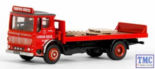 E37602 EFE 1:76 Scale OO Gauge Bus Ergomatic 2 Axle Flatbed London Brick Co.
