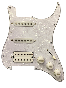 Standard Pickguard Assembly Pearl White