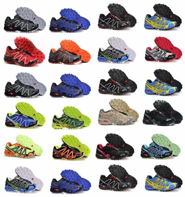 NEU Salomon Speedcross 3 Herren Schuhe Laufschuhe Wrestling Schuhe Größe 40 47
