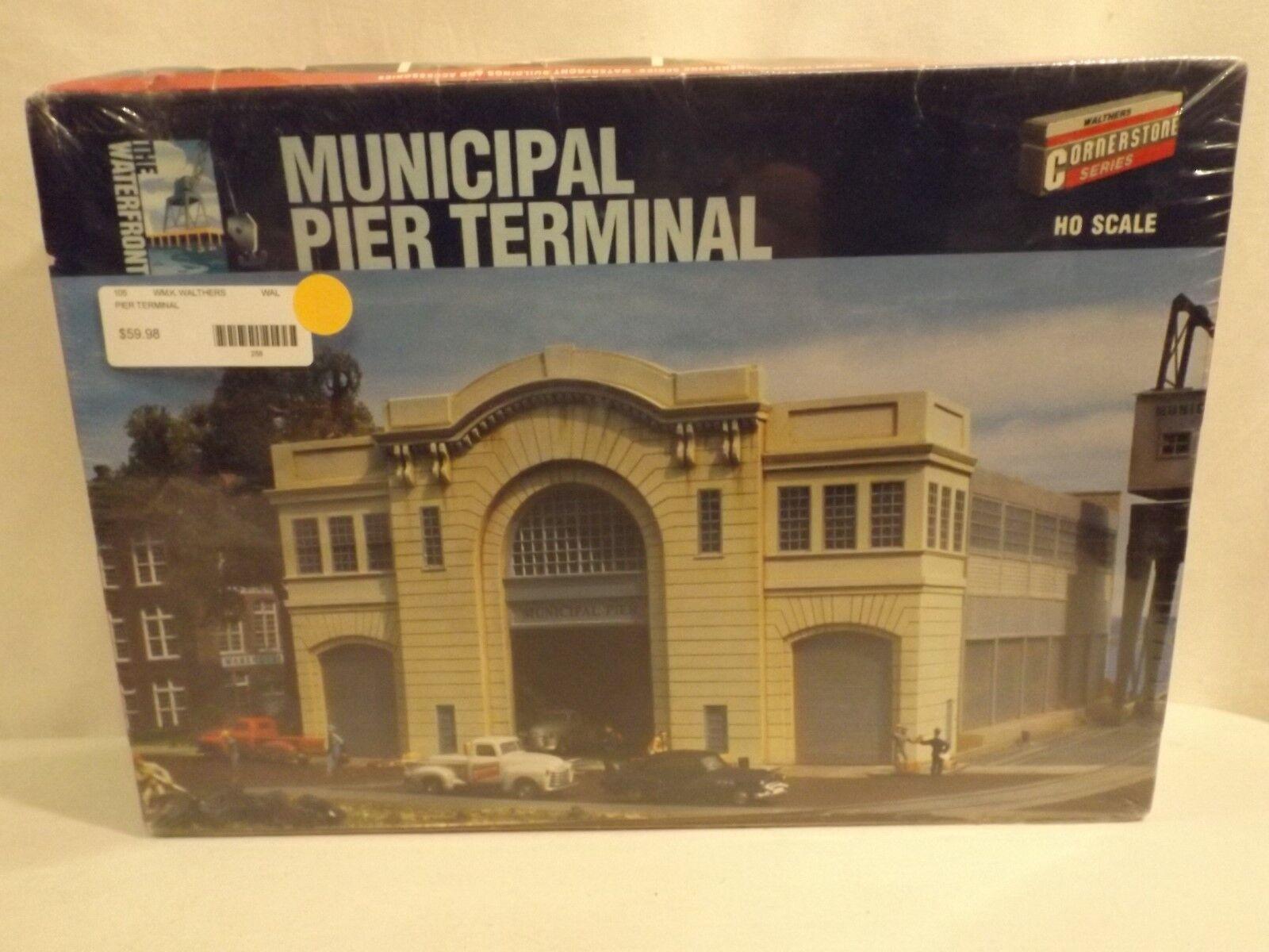 venta caliente Ho Walthers Piedra Angular municipal Pier terminal, Nuevo En En En Caja  barato