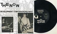 "The Now (UK) - Development Corporations 7"" Peterborough UK Punk Bloodstains KBD"