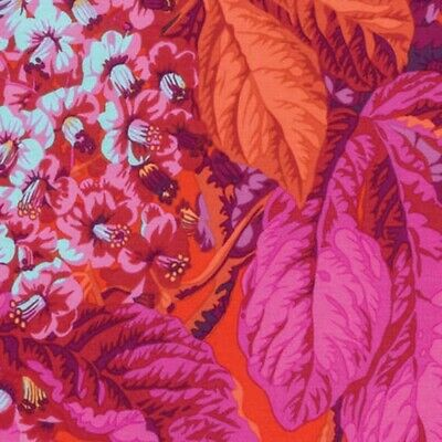 fabric for RowanWestminster Philip Jacobs PJ04 Coral Oxblood OOP Kaffe Fassett Collective