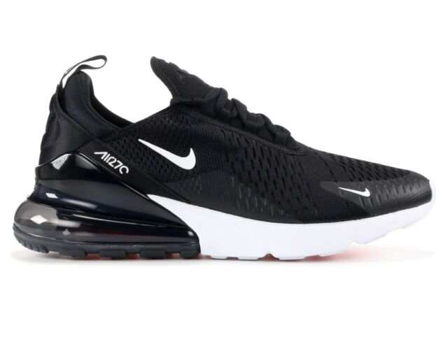 Men's Nike Air Max 270 Flyknit Black White AH8050 002 Boys Running Shoes AH8050 002
