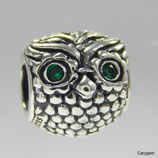 e2645c477 item 1 NEW Authentic Pandora Charm Dark Green Wise Owl 791211CZN W Suede  Pouch -NEW Authentic Pandora Charm Dark Green Wise Owl 791211CZN W Suede  Pouch
