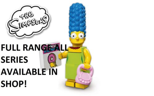 Lego marge simpson the simpsons series 1 unopened new factory sealed