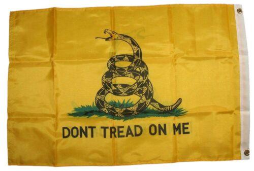 2x3 Gadsden Dont Tread On Me Flag 210D Nylon Double Sided 2ply