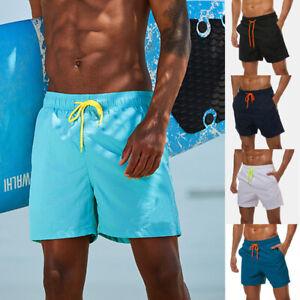 Men-Swimming-Board-Shorts-Swim-running-Shorts-Trunks-Swimwear-Beach-Summer-NEW