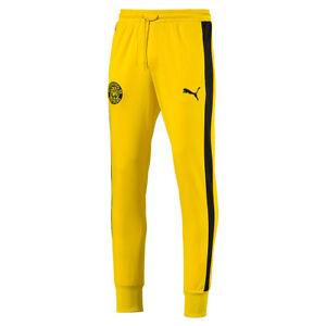 Détails sur Puma Borussia Dortmund Bvb T7 Pantalon pour Homme de Survêtement 754098 01 Jaune