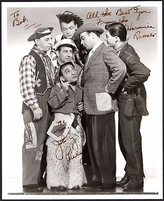 Autograph Harmonica Gang To Bob We Have Won Praise From Customers Reasonable Johnny Puleo Signed Vintage 8x10 Photo Rock & Pop