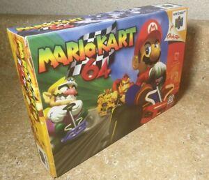 Mario Kart 64 HAND MADE BOX Nintendo N64