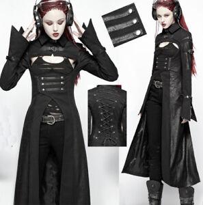 EN-STOCK-Manteau-gothique-punk-futuriste-cyber-fashion-bandes-corset-PunkRave