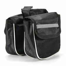 Bicycle Mountain Bike Cycling Sport Frame Pannier Front Tube Double Bag Pouch