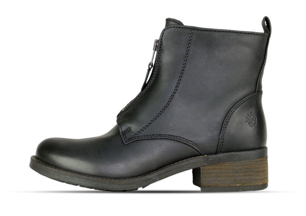 Apple of - Eden AW17-DIA 1 BLACK - of Leder - schwarz - Stiefeletten - Damens +Neu+ 73e3ec