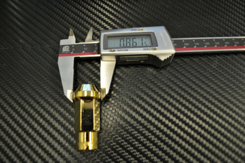 24k Gold Steel JDM Extended LUG NUTS 12X1.25  20 pcs key wrx 240sx s13 s14 STI