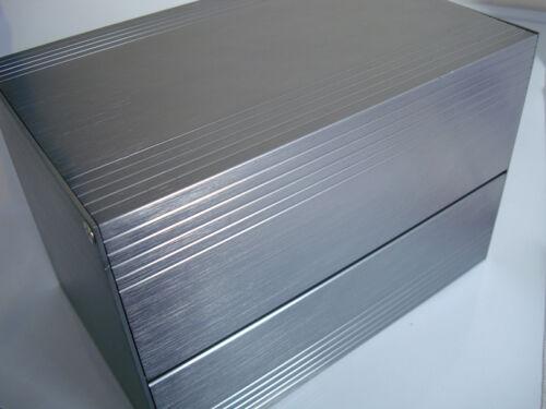 1pc  136* 136* 200mm Dark gray   aluminum Electronic Instrument Box long life