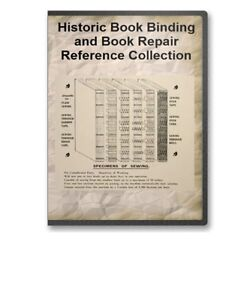 Bookbinding-History-38-Books-How-to-Bind-Repair-Emboss-Leather-Type-B373