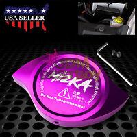 Purple Billet Aluminum Radiator Protector Pressure Cap Cover High Performance