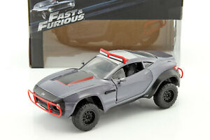 Letty-039-s-Local-Motors-Rally-Fighter-Fast-and-Furious-8-2017-Gray-1-24-Jada-Toys