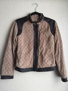 5343b2a0c Details about Wilsons Leather Maxima Brown Womens sz M Cafe Rare Racer  Motorcycle Jacket Biker