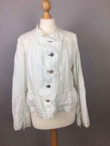 femmes asymétriques boutons avec Collection M pour Chemise Motys Vintage 10 12 SxqaOw0I