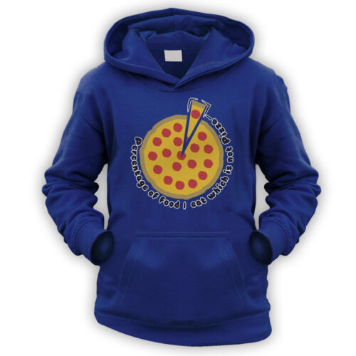 Pizza Percentage Kids Hoodie x9 Colours Gift Present Lover Fan Funny LOL