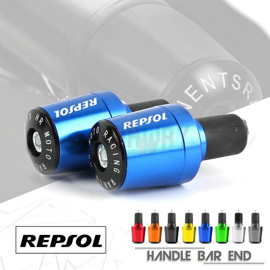 Handlebar End Plug Handle Grip for HONDA REPSOL CBR250R 300R//F CB500F//X CB190R//X