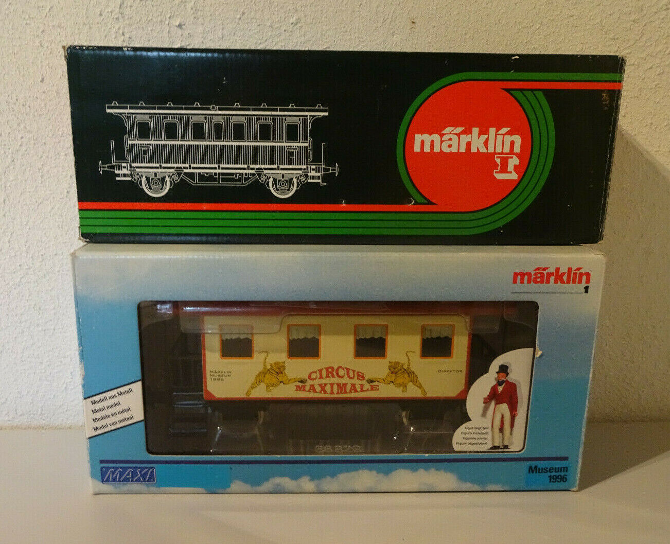 (Go 11) Märklin Spur1 Passenger Museum Car 1988 or 1996 Sealed Top Rare