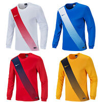 Nike Junior Youth Sash/sessi Soccer Jersey Long Sleeve Football Shirts [dri-fit]