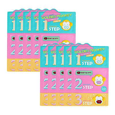 [HOLIKA HOLIKA] Golden Monkey Glamour Lip 3step Kit 10pcs / Korean cosmetics