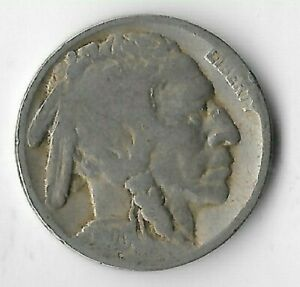 Rare-Very-Old-Antique-1920-US-Buffalo-Indian-Nickel-Collection-Coin-USA-Cent-134