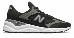 New-Balance-Men-039-s-X-90-Shoes-Black-With-Grey