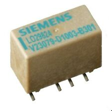 Submini. Relais SMD 12VDC, V23079-D1003-B301, 2 Wechsler, 250VAC., Siemens 1St.
