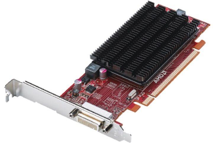 NEW ATI FirePro 2270 1GB PCI-E Low Profile Workstation Video Card DVI VGA DP