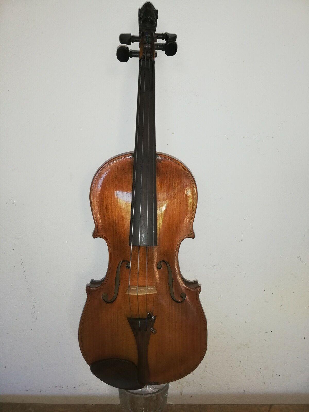 Violino Jacobus stainer antico 1900 4 4 vintage old Violin alte geige ARCO+CASE