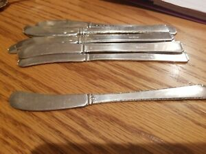 Towle Old Lace Sterling Flat Handle Butter Spreader