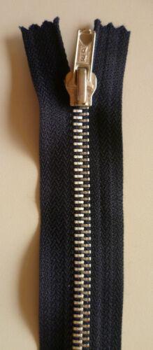 Jeans Reissverschluss   20 cm marine//nachtblau