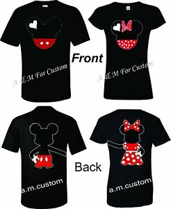 Mickey-and-Minnie-Disney-Holding-hands-Couple-matching-funny-cute-TShirt-S-4XL