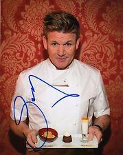 Gordon Ramsay Autographed 8x10 Photograph Master Chef Hotel Hell Nightmares COA