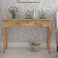 Vintage Console Table Furniture Hallway Antique Wooden Sideboard Drawer Storage