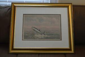 034-Catching-a-Tarpon-034-Frederick-Schiller-Cozzens-1889-Framed-Chromolithograph