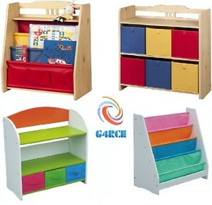NEW CHILDREN FURNITURE KIDS GIRLS BOYS BOOKCASE BOOKSHELF