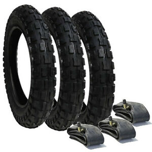 Phil and Teds Dash  Heavy Duty Chunky Pram Tyres /& Tubes FREEPOST Set of 3