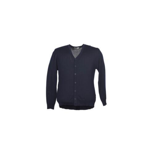 maxfort 5425 maglia cardigan leggero uomo taglie forti pura lana vergine bottoni