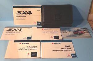 12 2012 suzuki sx4 owners manual ebay rh ebay co uk service manual suzuki sx4 service manual suzuki sx4 2010