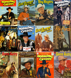 Hopalong-Cassidy-Gene-Autry-Roy-Rogers-Western-Comics-180-Issues-on-DVD