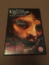 Texas Chainsaw Massacre - The Beginning (DVD, 2007, 2-Disc Set, Uncut Version)