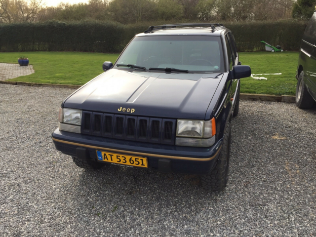 Jeep Grand Cherokee, 5,2 V8 Limited aut. 4x4, Benzin, 1995,…