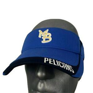 Mb Myrtle Beach Pelicans Baseball Visor