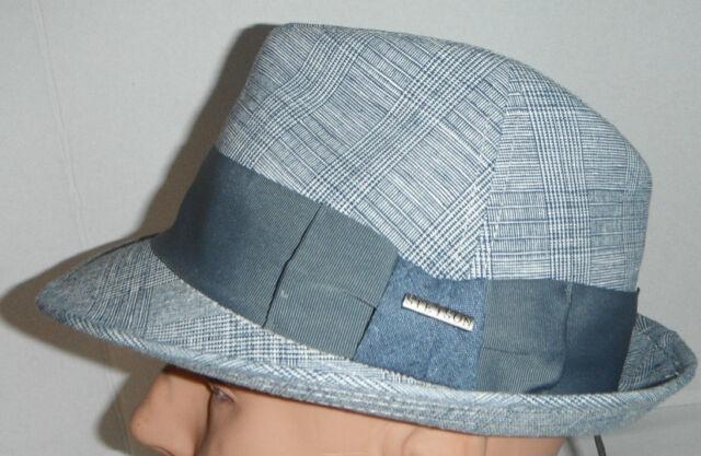 02273b85560 NEW Men s GENUINE STETSON DELUXE linen blend PORKPIE FEDORA Hat size ...