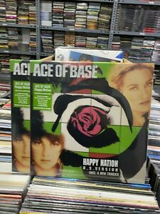 Ace Of Base LP Happy Nation Clear Vinyl 2020 Versiegelt Neu
